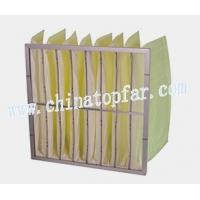 Buy cheap Multi-pocket bag filter,Pocket filter,air filteration equipment from wholesalers