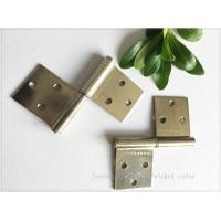 Buy cheap Nickel Plated Kitchen Cabinet Hinges Bright Color Folding Function Furniture Hardware product