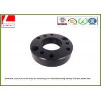 Buy cheap Machined Turned Parts Aluminium CNC turning base with black anodization from wholesalers