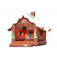 Buy cheap Christmas Inflatable Bouncy Castle , Outdoor Games Blow Up Jump House 5.2 * 4 * 4.5m from wholesalers