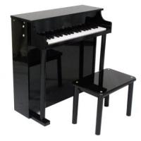Buy cheap Pretty Black Upright Mini Toy Wooden Toy Piano 37 Key For Toddlers U37A from wholesalers