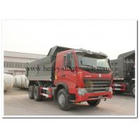 Buy cheap 6x4 HOWO A7  dump truck 420Hp payload 30 tons loading lower fuel consumption and Left Hand Driving Type from wholesalers