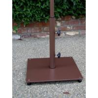 Buy cheap 16in Square 20lb Enameled Steel Patio Umbrella Base Custom Welding Fabrication from wholesalers
