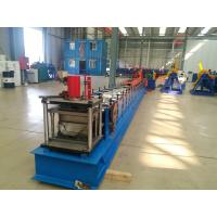 Buy cheap Tube Roll Former Downpipe Roll Forming Machine With Double Head Decoiler from wholesalers
