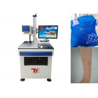 Buy cheap 10640nm Beam Co2 Laser Marking Machine For Fabric , Clothing Printing from wholesalers