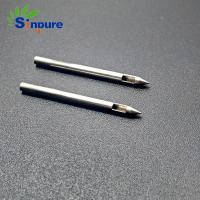 Buy cheap Sinpure OEM stainless steel air liquid needle with side hole from wholesalers