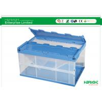 Buy cheap Folding Plastic Boxes Collapsible Storage Crate HBE-LB-6 600x400x330mm product