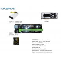 Buy cheap Pcie 1X to 16X Riser card  input 6Pin Virtual currency component mining machine dedicated from wholesalers