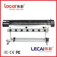 Buy cheap Original lecai inkjet printer with double four color and Japanese E-pson DX5 print head for indoor/outdoor from wholesalers