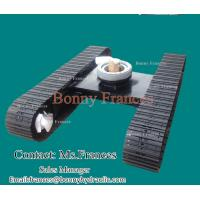 Buy cheap Steel tracked crawler undercarriage from wholesalers