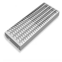 Buy cheap Perforated Galvanized Grip Strut Grating Stair Treads Non Slip Metal Sheet from wholesalers