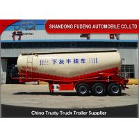 Buy cheap 60 ton Bulk Cement Tanker Trailer transport powder, silos cement trailer from wholesalers