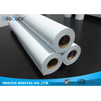 Buy cheap Eco Solvent Matte PP Synthetic Paper , Solvent based Polypropylene Paper for Outdoor Display from wholesalers