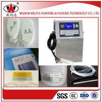 Buy cheap Willita continuous intelligent automatic expiry date stamping machine from wholesalers