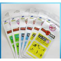 Buy cheap Kids Mosquito Repellent Bracelet Grip Seal Bags 110 Micron With Hanghole from wholesalers
