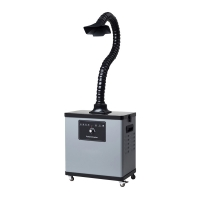 Buy cheap Miller / Weld Fume Extractor with Brushless Motor , Soldering Fume Extraction Machine from wholesalers