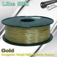 Buy cheap Polymer Composites 3D Printer Filament , 1.75mm / 3.0mm , Gold Colors. Like Silk Filament product