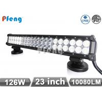 Buy cheap Double Row 126W 20 Inch Led Light Bar Cree 3W LED Waterproof from wholesalers