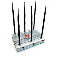 Buy cheap 70W 2G 3G 4G WiFi Mini Portable Cellphone Jammer Indoor Using 4 Cooling Fan Inside from wholesalers