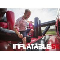 Buy cheap 3.1 Miles Inflatable 5k Obstacle Course Run Insane Three Years Warranty from wholesalers