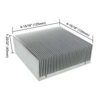 Buy cheap Led Heat Sink Aluminum , Aluminum Heat Spreader High Dimensional Stability from wholesalers