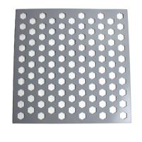 Buy cheap Powder Coating Surface Aluminum Alloy Perforated Mesh Panels For Decorative Screen from wholesalers