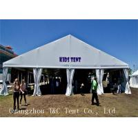 Buy cheap PVC Coat Fabric Outdoor Party Tents With Hard Pressed Extruded Aluminum Alloy from wholesalers
