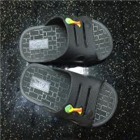 Buy cheap Home use men women PVC one piece indoor hotel bath slippers from wholesalers