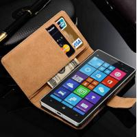 China Nokia Lumia 930 Phone Cover Case Wholesale Flip Leather Book Style Luxury Stand Wallet on sale