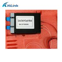 Buy cheap Fiber PON COUPLER Mechanical Optical Switch With ABS Box Module from wholesalers
