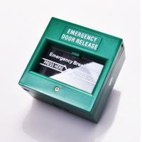 Buy cheap DPDT White Break Glass Call Point Emergency Exit Push Button With Changeable Glass from wholesalers