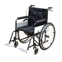 Buy cheap Wheelchair, the disabled, thickening steel tube confined to a wheelchair, with four brake, toilet, household,folding, from wholesalers