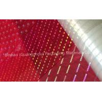 Buy cheap Transparent Holographic BOPP Biaxially Oriented Polyester Film High Moisture Barrier from wholesalers
