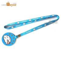 Buy cheap PVC Key Tag with Lanyard for promotion 10mm Promotion Lanyard with key tag China Factory from wholesalers