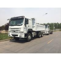 Loading Capacity 25 Ton Dump Truck336HP Construction Use With Heavy Duty Axles