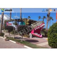 Buy cheap 9 seats Mobile 7D Movie Theater and Vivid Dinosaur Profile More Appealing To Audiences product
