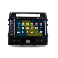 Buy cheap 9 2DIN HD android car dvd android 4.4.4 HD 1024*600 car DVD GPS for Toyota Land Cruiser 200 with WiFi Mirror link from wholesalers