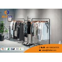 Buy cheap Boutique Store Garment Showroom Display Hanging Garment Racks For Shops from wholesalers