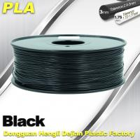 Buy cheap Black  PLA 3d Printer Filament  1.75mm /  3.0mm 1.0 KG / Roll product