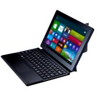 Buy cheap Black Leather POGO PIN Keyboard , 10.5 Inch Energy Saving Windows 8 Keyboard from wholesalers