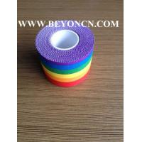 Buy cheap FDA Adhesive Sports Wrap Tape Rich Color Pattern Neat Cut Work from wholesalers