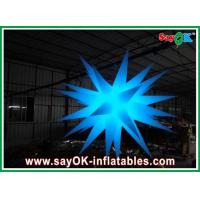 Buy cheap Party Inflatable Lighting Decoration Star Shape Lighting Decoration 2m Dia from wholesalers