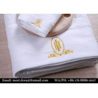 Buy cheap Custom Embroidery Towel 100% Cotton Hotel Bath Towel For Sale from wholesalers