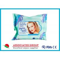 Facial Natural Feminine Hygiene Wipes Unscented Biodegradable