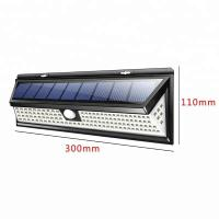 Buy cheap Solar Panel Charge Battery IP65 Outdoor Wall Mounted Garden Motion Sensor LED Solar Light from wholesalers