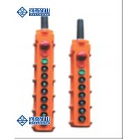Buy cheap double girder overhead Crane Spare Parts Industrial wireless Yellow color from wholesalers