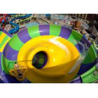 Buy cheap Indoor Or Outdoor Swimming Pool Water Slides Super Bowl For 2 People product