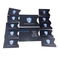 Buy cheap Package In Sets RFID Blocking Card Sleeve 10 X Credit Card Protector 2 X Passport Holder product