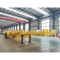 Buy cheap Leaaf Spring Suspension Terminal Trailer 40-100 Tons With 500mm Side Guide Plate from wholesalers