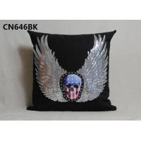 Buy cheap alibaba supplier 100%polyester home linen pillow cover decorative cushion with competitive price from wholesalers